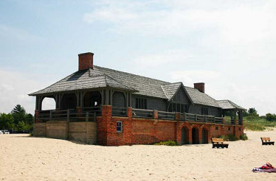 Ludington State Park Beach House
