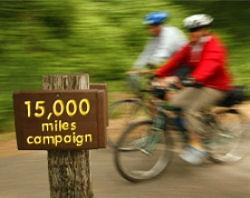 15,000 mile promotion